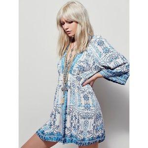 Free People | Tallula Boho Mini Dress M